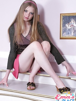 Ema's Place  Ema  Natural, 18 year, Teens, Young, Solo